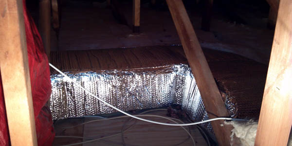 air duct insulation