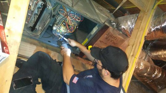 pure airways air duct cleaning technician in dallas