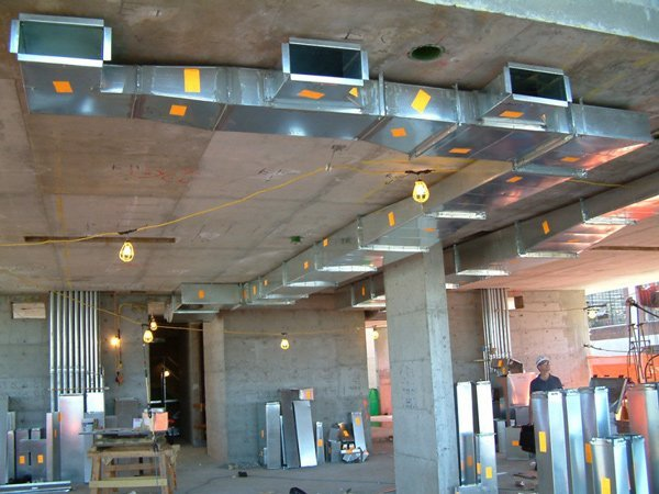 Installing AC Ductwork