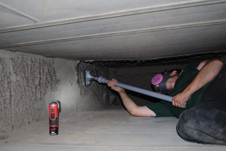 commercial Air vent cleaning
